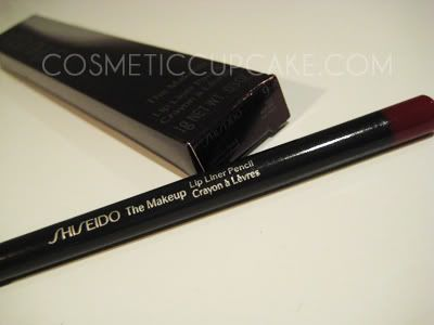 Shiseido lip liner red rouge