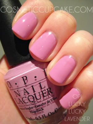 OPI Lucky Lucky Lavender