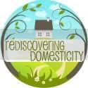 Rediscovering Domesticity Blog Button